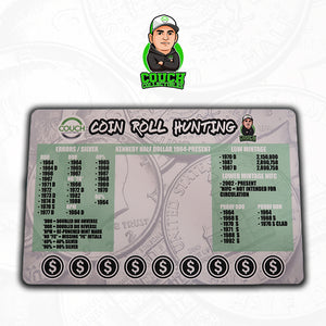 Coin Roll Hunting Mats (Half Dollars)