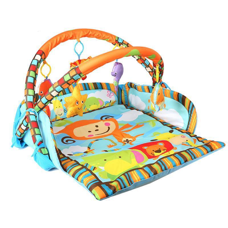 Baby Gym Play Mat Musical Activity Gym Learning Educational Toys