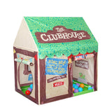 Foldable Baby Play Tent Kids Castle Cubby Playhouse Outdoor
