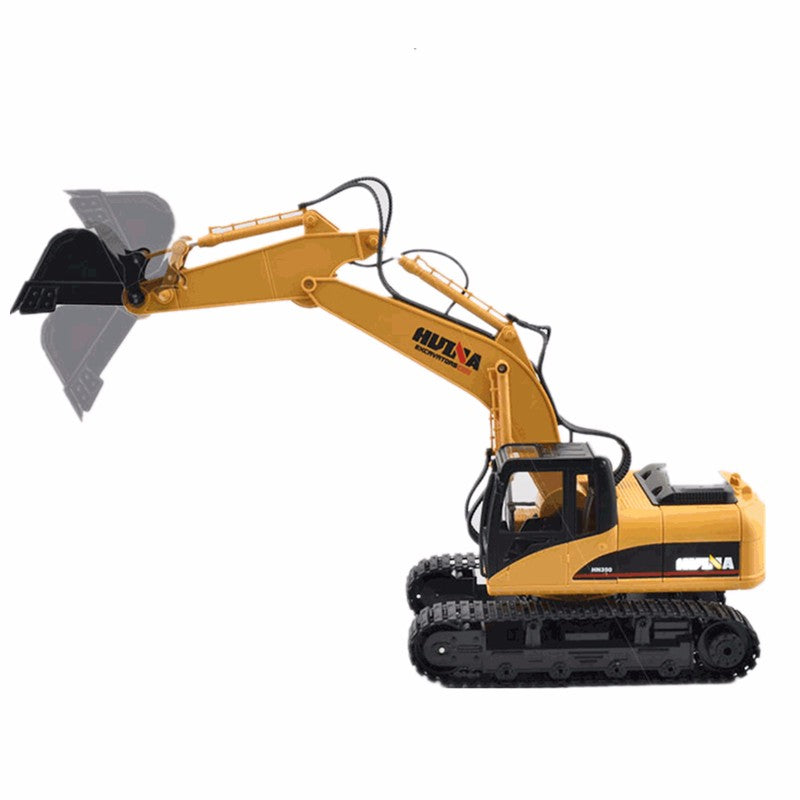 Toys Channel RC Metal Excavator Charging RC Car With Battery