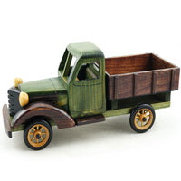 Cosette Vintage Truck Collection Home Decoration Gifts Handmade Wooden Car