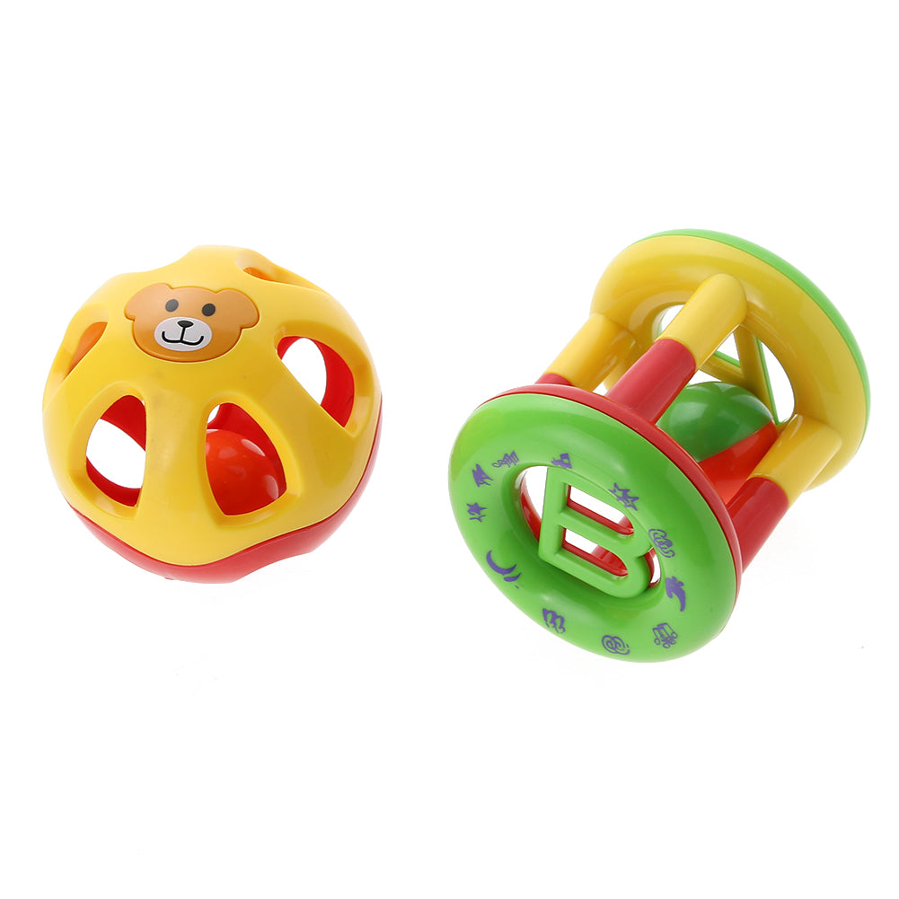 2pcs/lot Cute Baby Hand Bells Developmental/Educational Toys