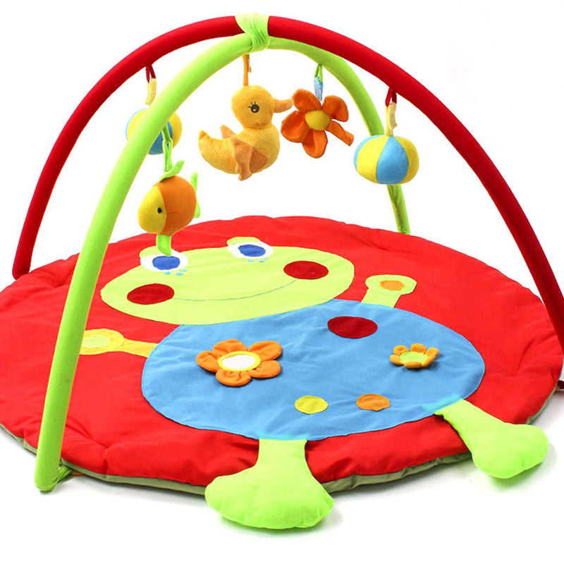 Baby Play Mat Infant Music Educational Game Pad Kids Crawling Carpet Plush