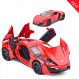 Bugatti Gt Metal Toy Alloy Car Diecasts and Toy Vehicles Car Model