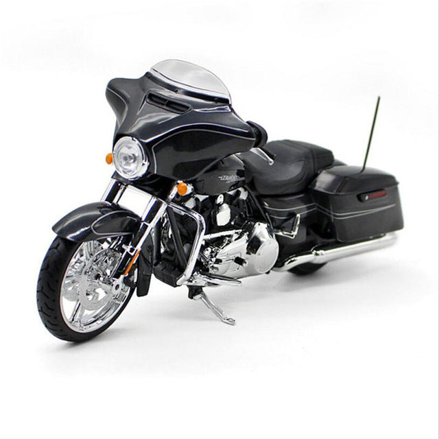 Harley Motorcycle Toy Die Cast And ABS Simulation Vintage Motorbike Model