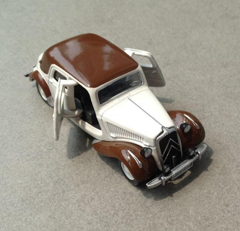 Alloy car toys,high simulation Citroen vintage car model