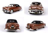 Vintage Classic Car Models Red and Coffee Diecast Models Children