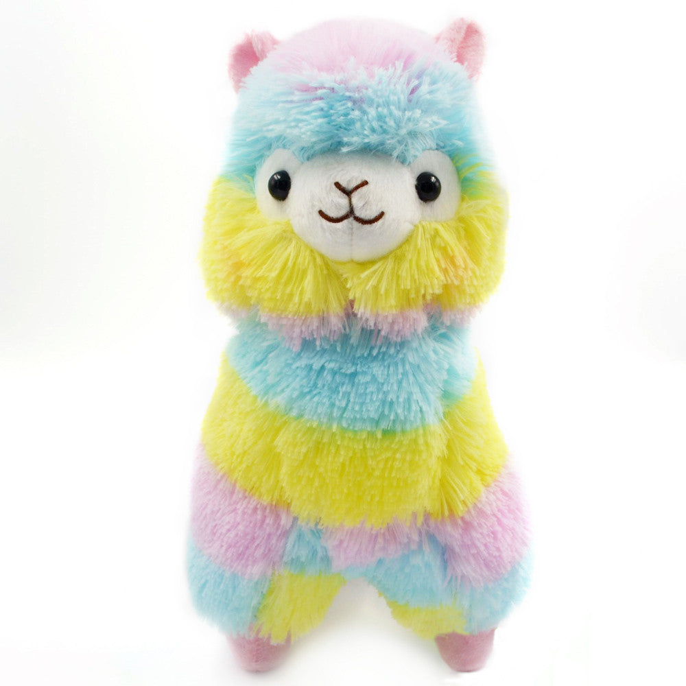Colorful Design Alpaca Llama Soft Plush Toy Doll Gift Cute Toys For Kids