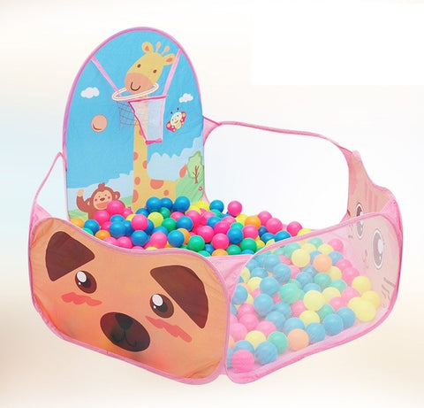 Foldable Funny Children Kids Tent Ocean Ball Pit Kids Playhouse Set