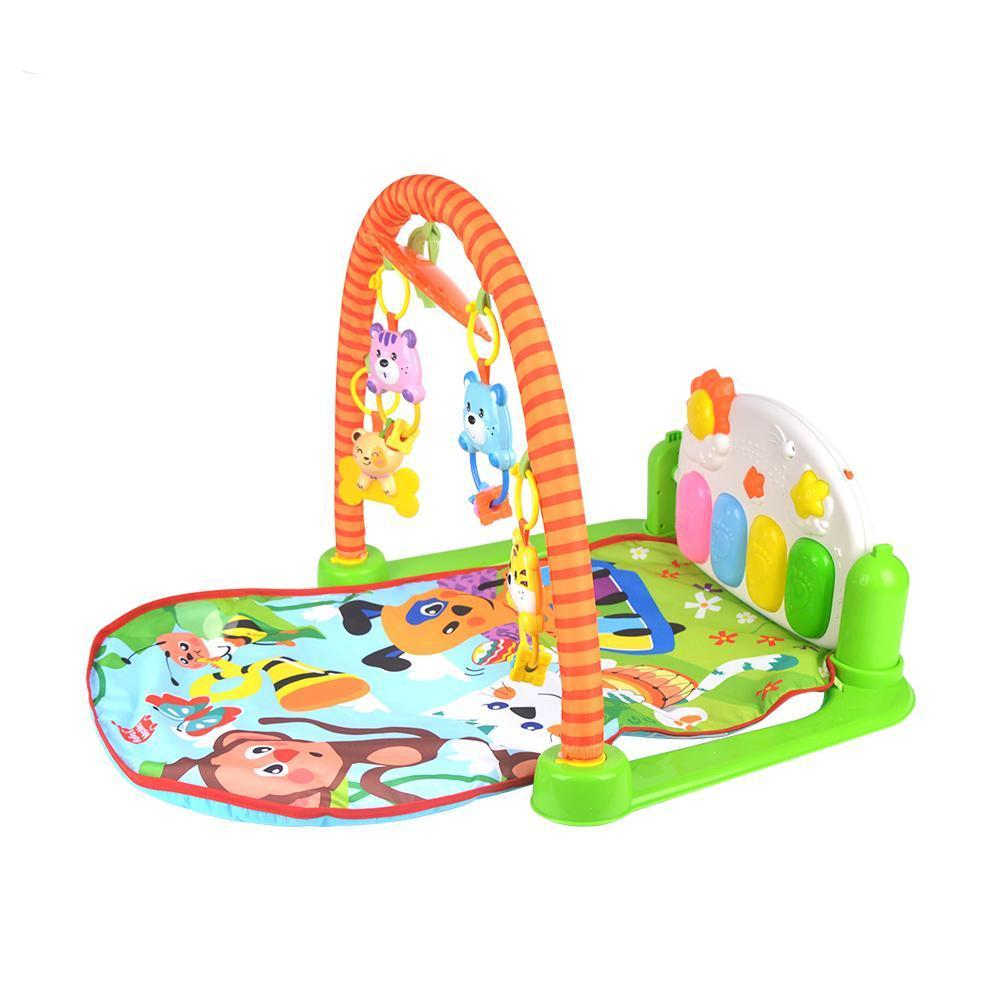 Baby Play Mat Activity Gym Musical Piano Toy Infant Toddler