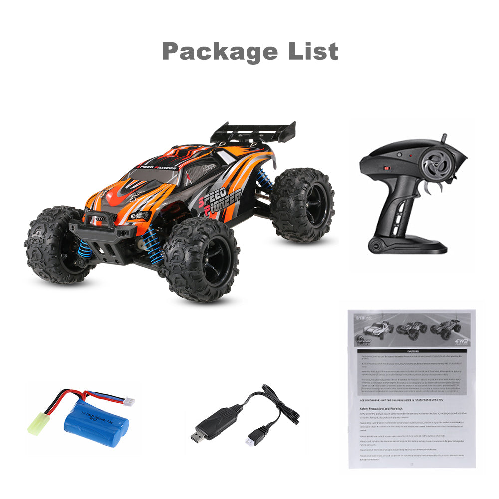 Truggy High Speed RC Toy Cars Racing Car RTR Toys For Boys Remote Control
