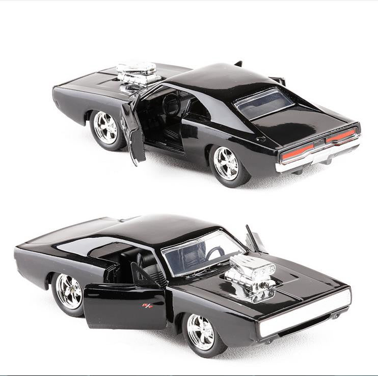 High imitation Dodge Charger Vintage Car Collection Model