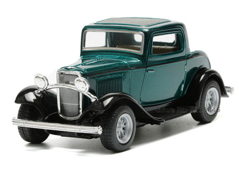 Alloy Diecast Metal Vintage Car Model Toy Retro Style Vehicle