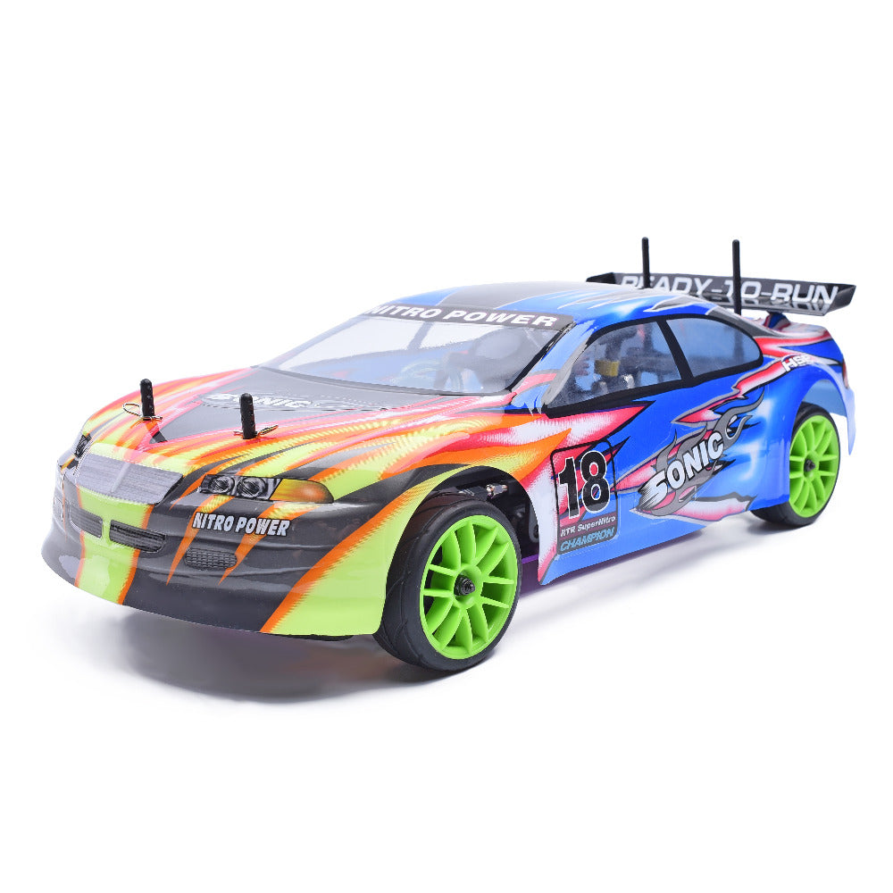 RC RACING CAR SONIC SCALE ON-ROAD NITRO POWER SPORT RALLY RACING