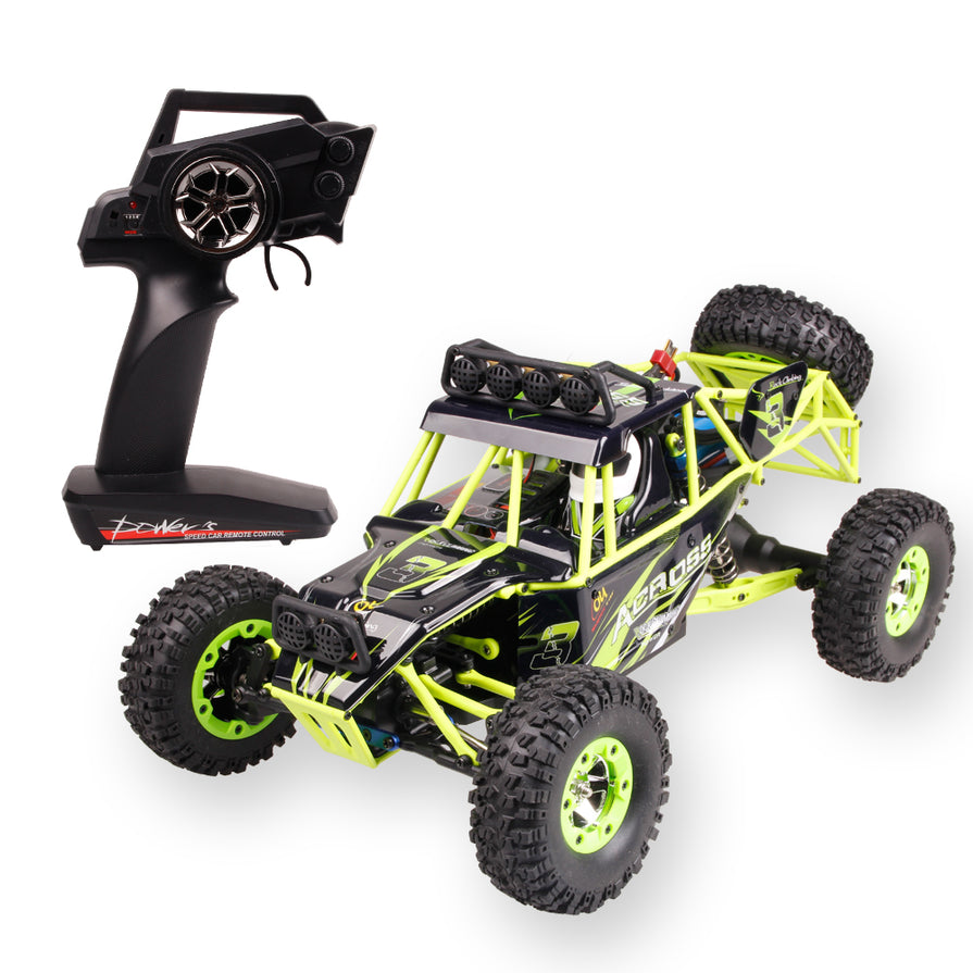 Electric four-wheel Drive Climbing RC Car With LED Light RTR