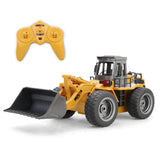 Toys Channel Metal Bulldozer Charging RC Car Model