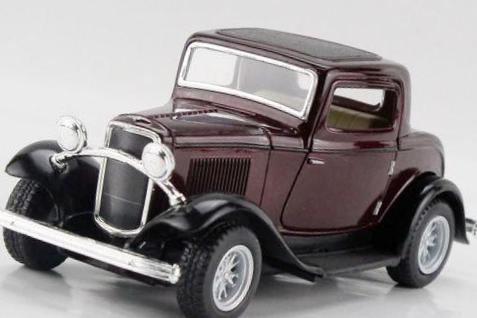 Ford Vintage Car Alloy Diecast Model Vehicle Toy Collection