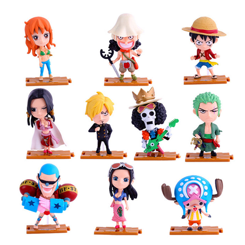 One Piece figure Bag Sets Brook Zoro