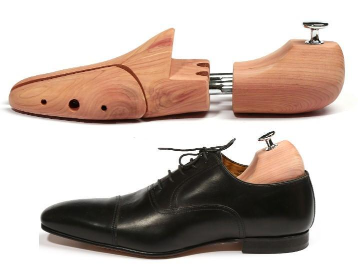 Men's and Women's Shoe Trees Twin Tube Red Cedar Wood Shoe Tree