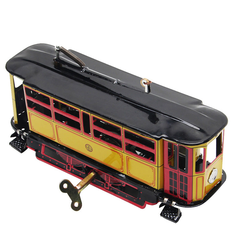 Clockwork Streetcar Toy Vintage Collection Kid Gift