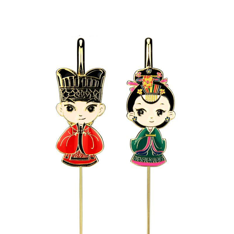 Beijing Opera School Metal Bookmark Supplies Teacher Handicraft