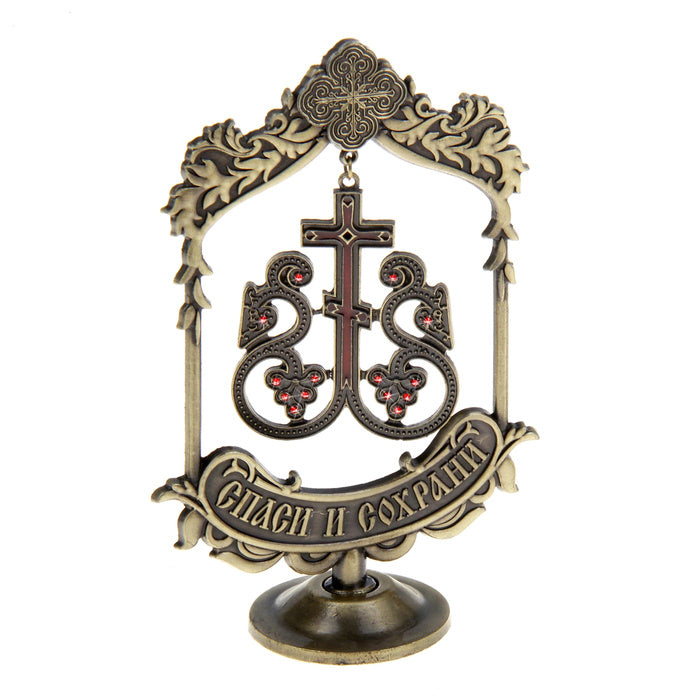 Creative Vine Design Cross Church Souvenirs Suspension Home Decoration Ornaments