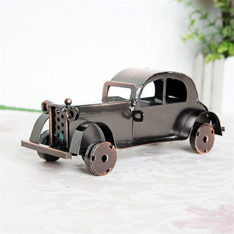 Classic Car Vehicle Desktop Home Decoration Model Delicate Handmade