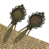 Crafts Metal Metal Crafts Collection Bookmarks Round Antique Bronze