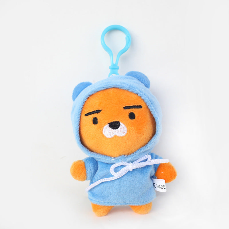 Ryan Plush Toys Doll Kawaii Korea Cartoon Kakao Friends Ryan Bear
