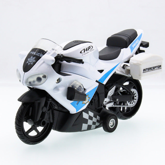 Motorcycle Vintage Vehicle Diecast Alloy Metal Luxury Car Model Collection