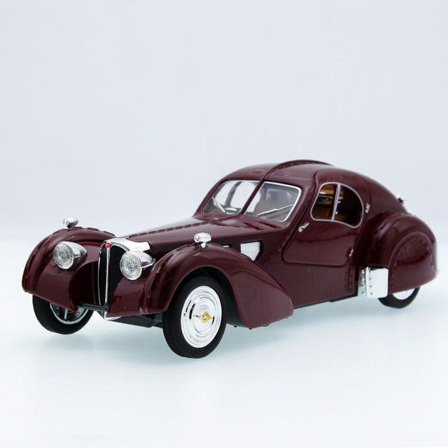 Retro Classic Vintage Car Diecast Alloy Metal Luxury Car Model Collection