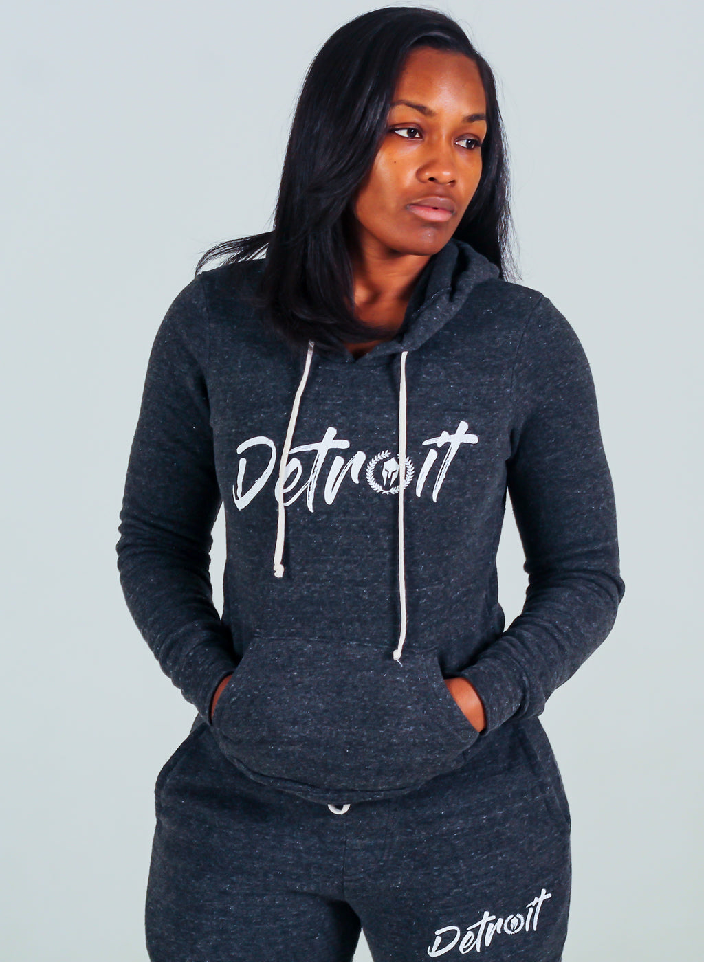 Detroit Vibes Eco Set - Dark Grey Heather