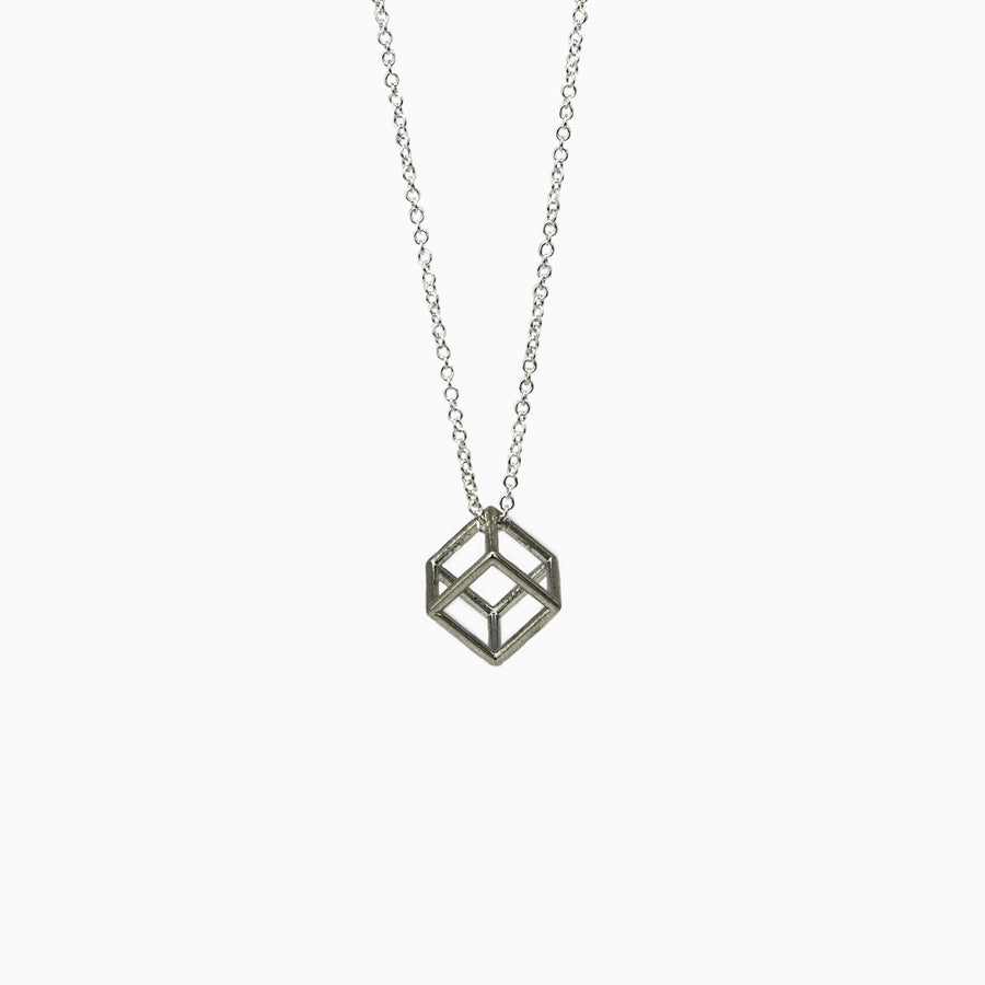Statement Geometric Pendant