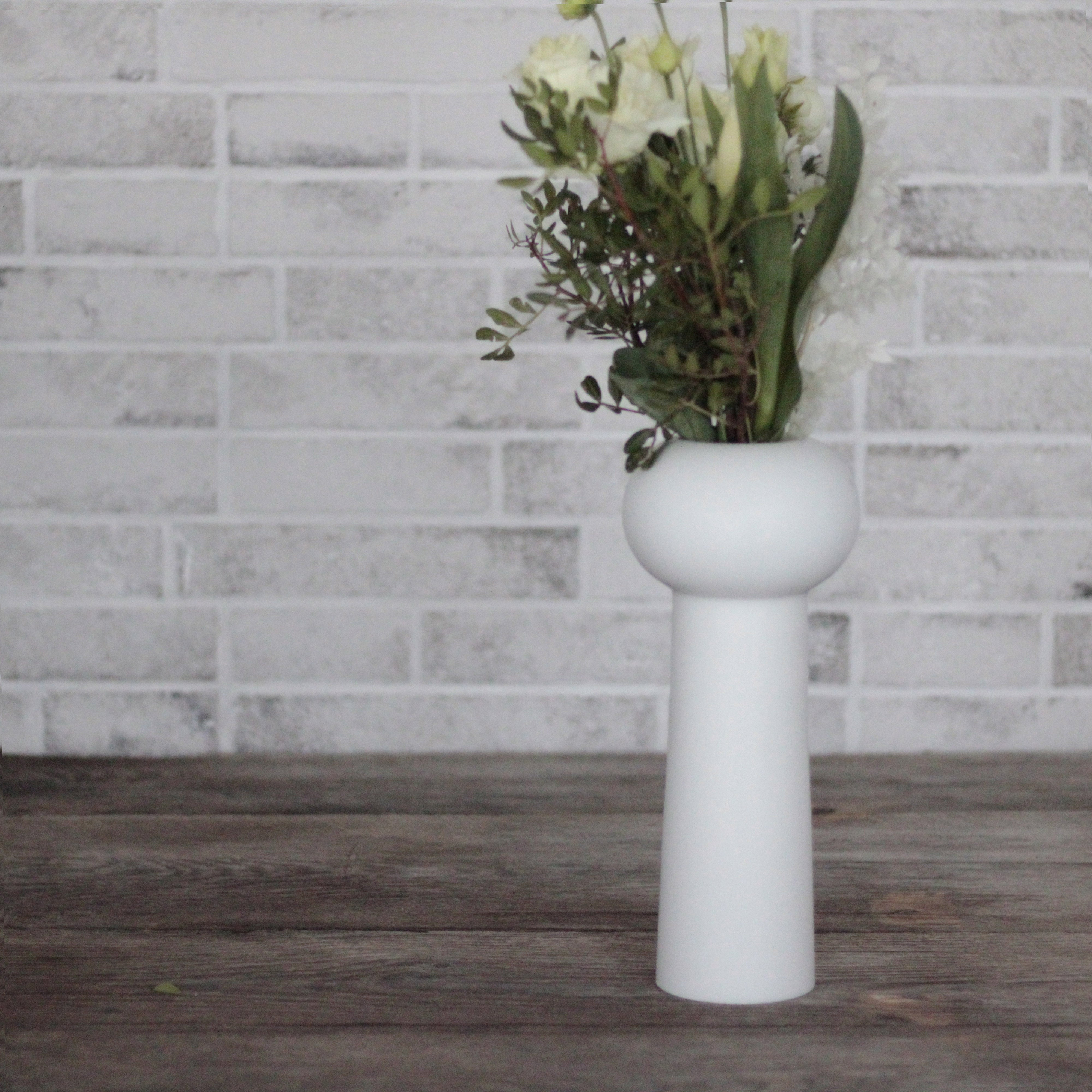 "Vaso Cilindro Minimal"" in Marmo Bianco di Carrara by Carrara by Carrara_Home_Design®"