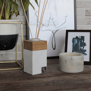Aroma Diffuser by CARRARA_HOME_DESIGN in marmo Bianco Carrara