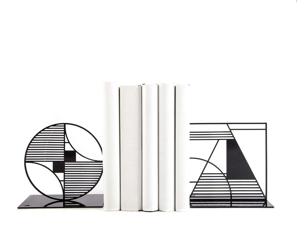Bauhaus bookends