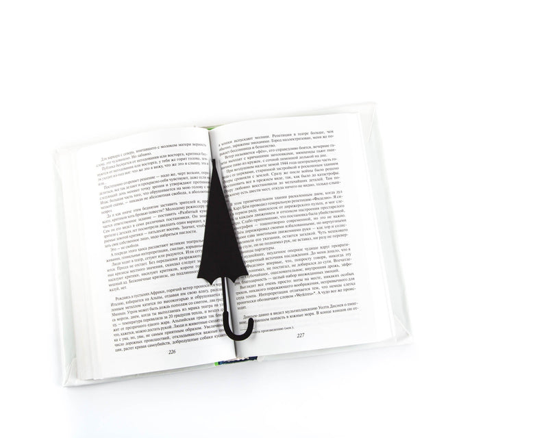 Metal book bookmark An Umbrella in Your Book by Atelier Article