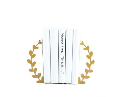 Metal bookends Wreath by Atelier Article