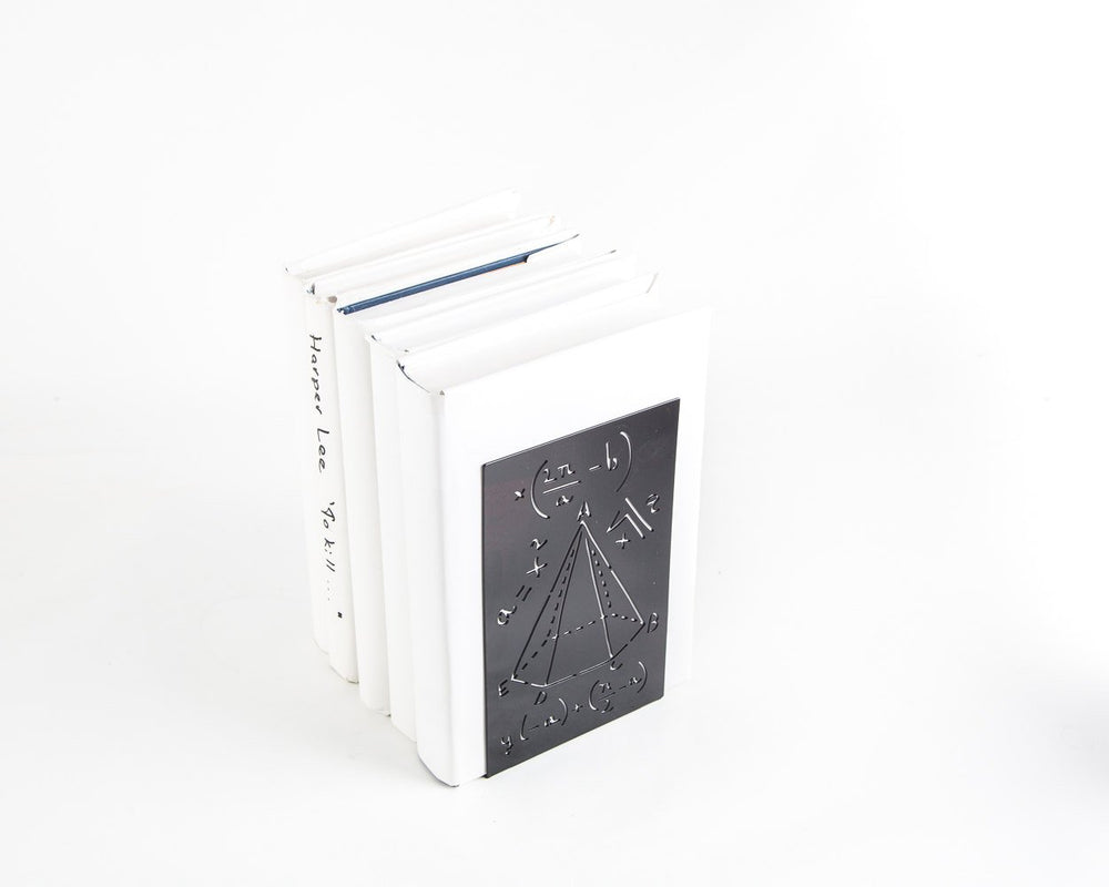 Metal bookend // Mathematics - Design Atelier Article