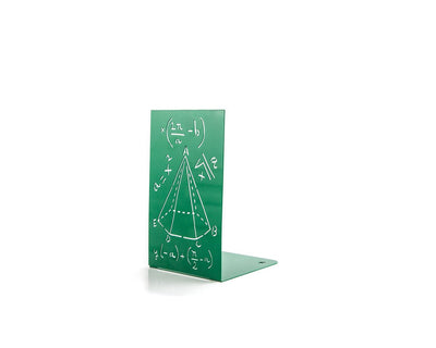 One Metal bookend Mathematics // Scientific bookend for your bookshelf // Perfect gift for science student // free world wide shipping