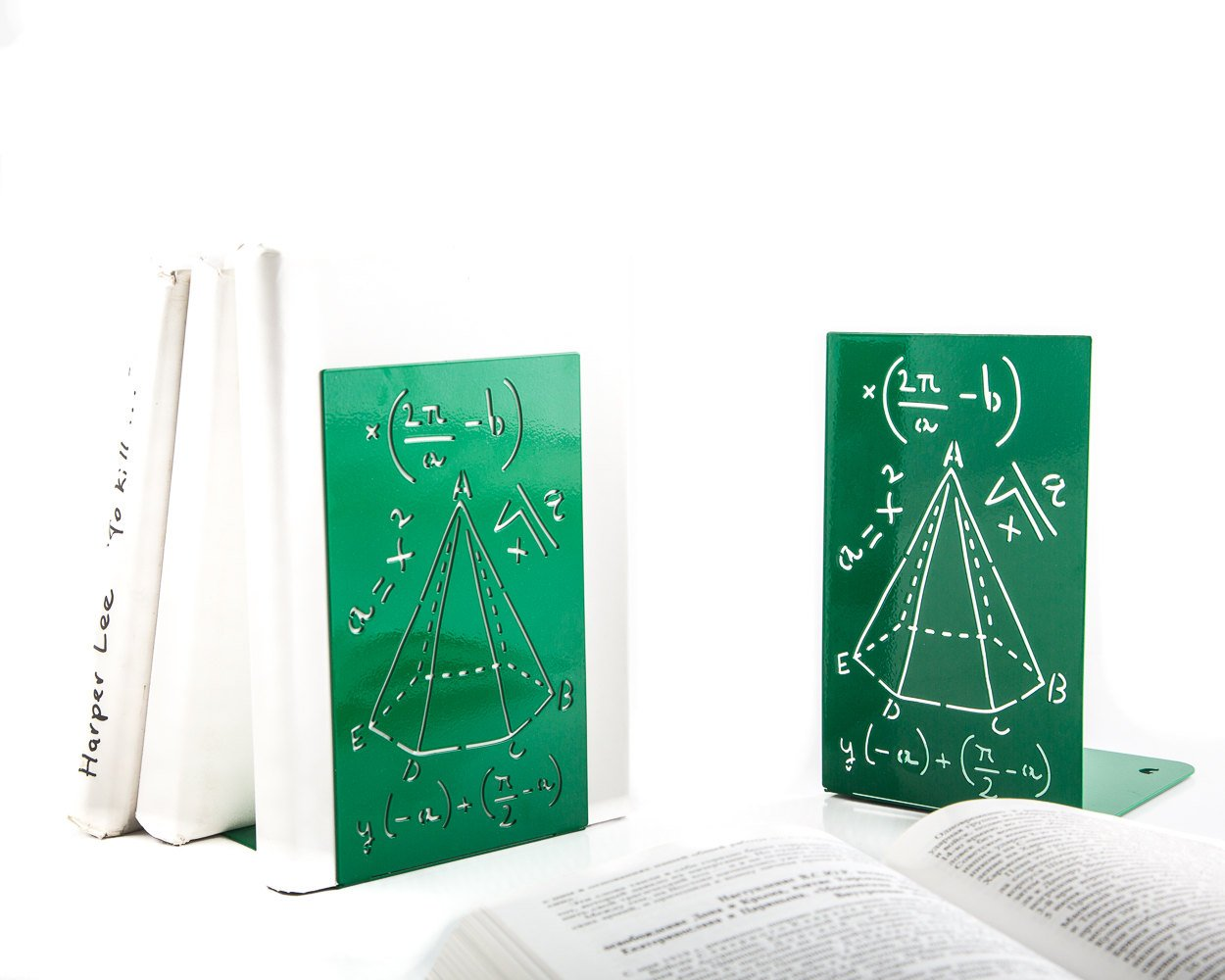 Bookends for school // Mathematics by Atelier Article