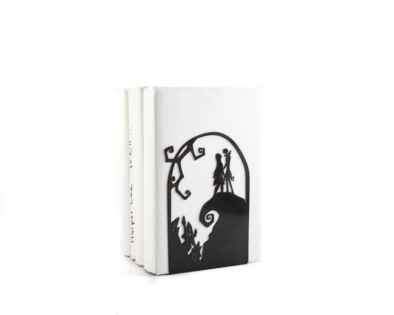 Bookend The Nightmare Before Christmas // Jack Skellington and Sally - Design Atelier Article