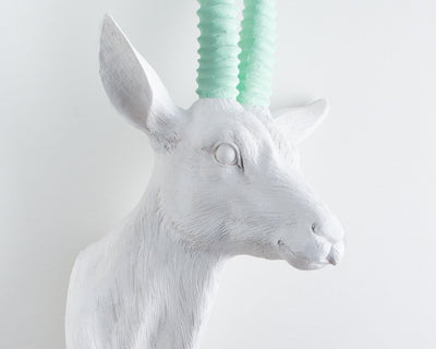 Faux Taxidermy Roe head // Green by Atelier Article - Design Atelier Article