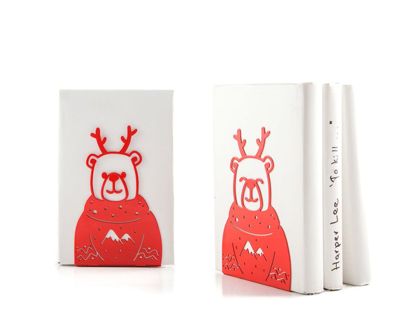Decorative bookends Christmas Bears by Atelier Article - Design Atelier Article