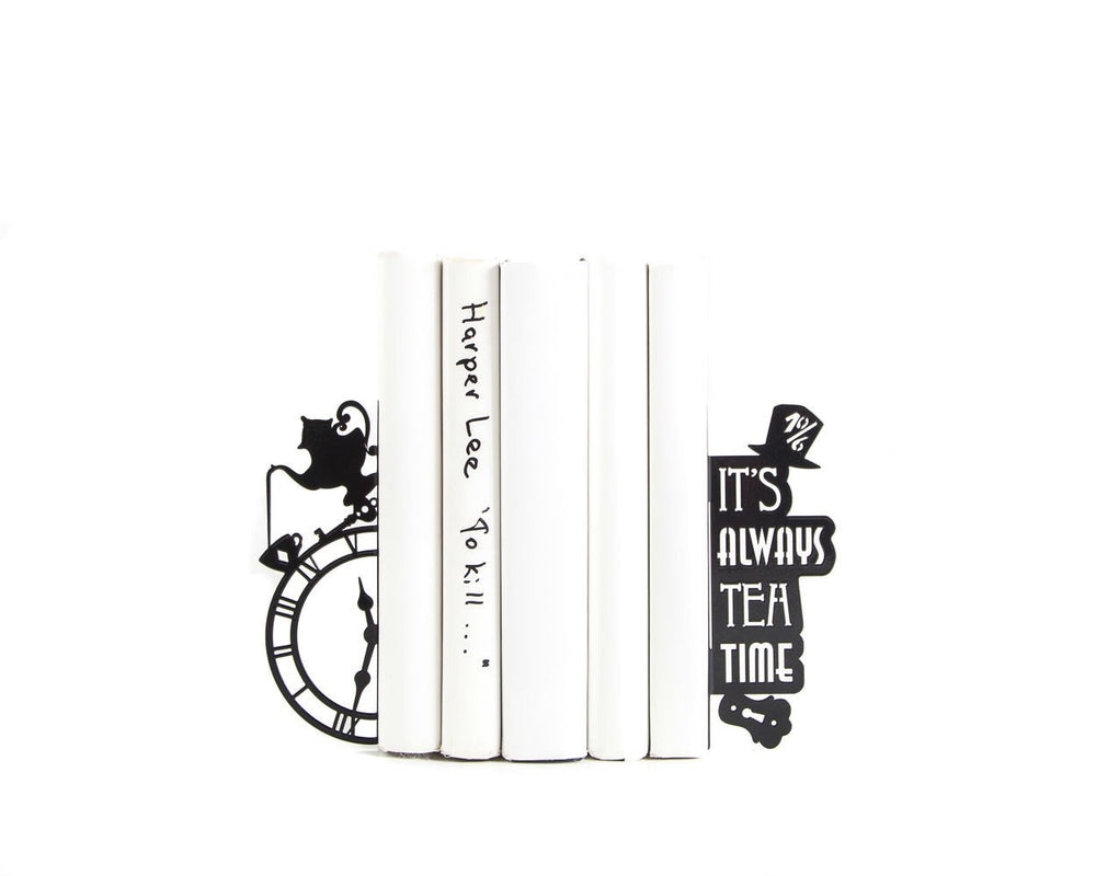 Bookends Mad Tea Party // Alice in Wonderland by Atelier Article - Design Atelier Article