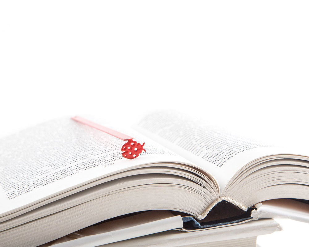 Metal Bookmark for books Ladybug - Design Atelier Article
