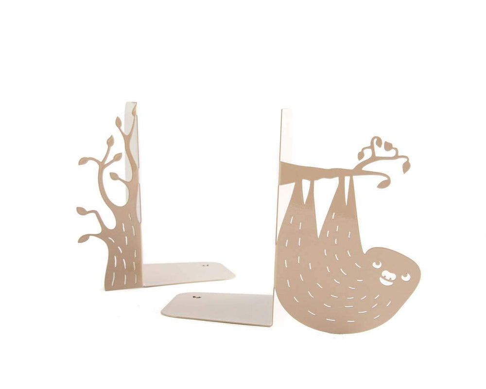 Nursery Bookends // Sloth and a Tree by Atelier Article - Design Atelier Article