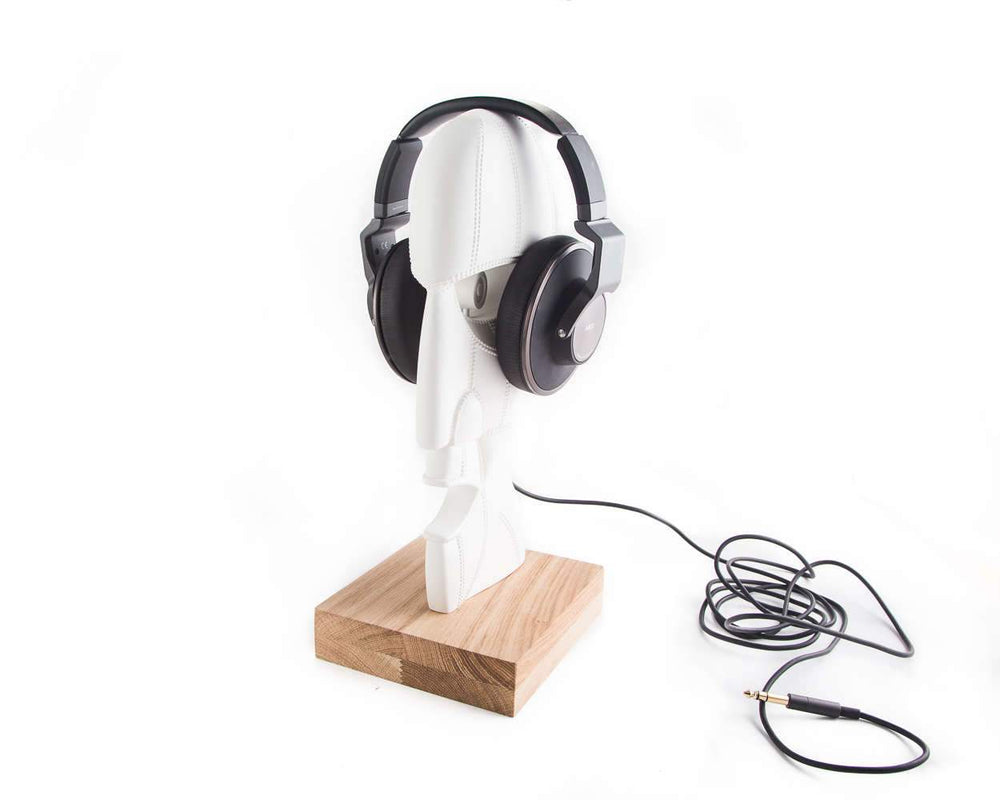 Sculpture // Headphone stand Pink Floyd Division bell inspired