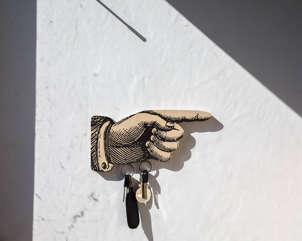 Magnet Key Wall Organizer Hand solution for your keys storage by Atelier Article - Design Atelier Article
