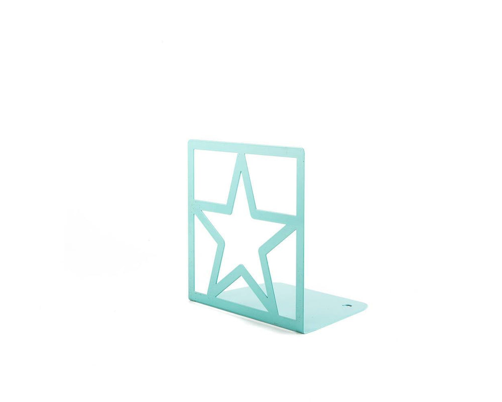 Unique bookends Star Teal by Atelier Article